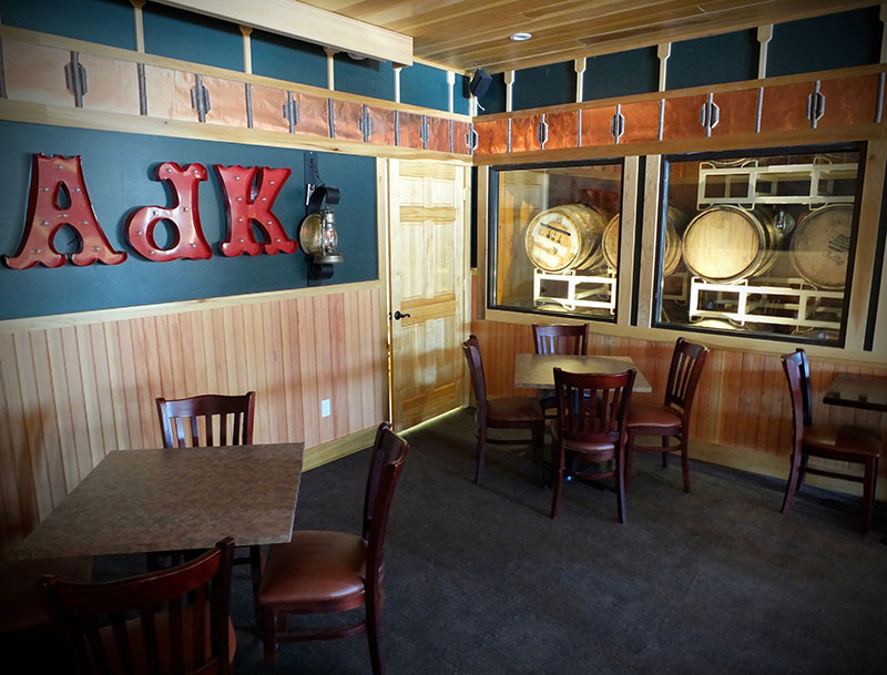 Private Parties in The Barrel Room : Adirondack Brewery