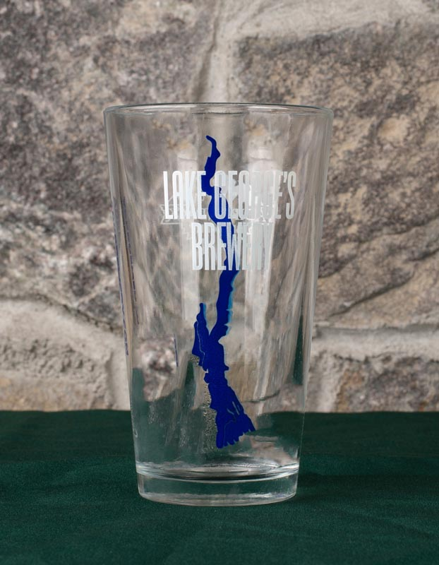Lake Georges Brewery Pint Glass